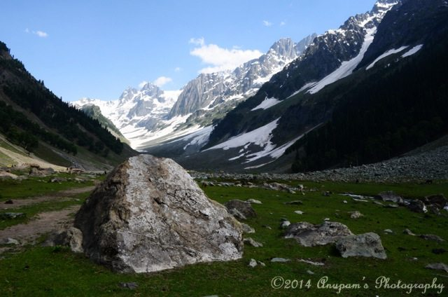 Thajiwas Glacier, the main attraction of Sonamarg