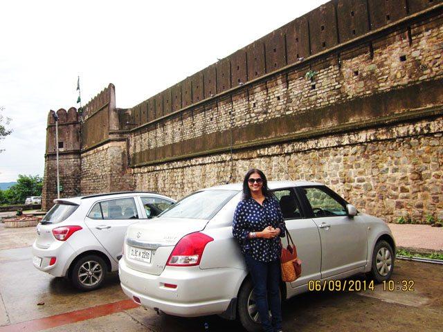 Car parking Pinjore Garden