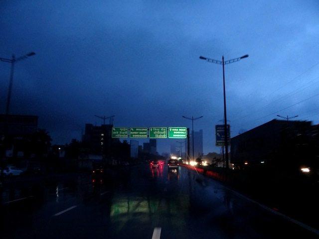 Exiting Mumbai