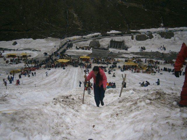 बर्फ पर चढ़ाई, सबसे मुश्किल काम