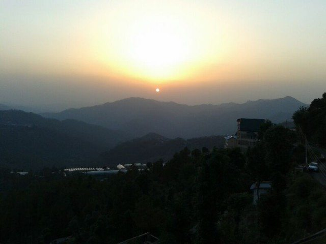 Sunset in Chail