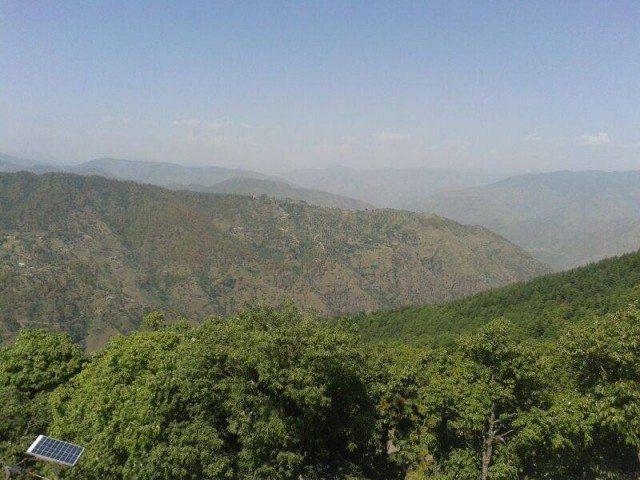 View From Kali Ka Tibba