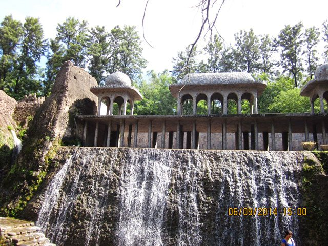 Waterfalls at Rock Garden
