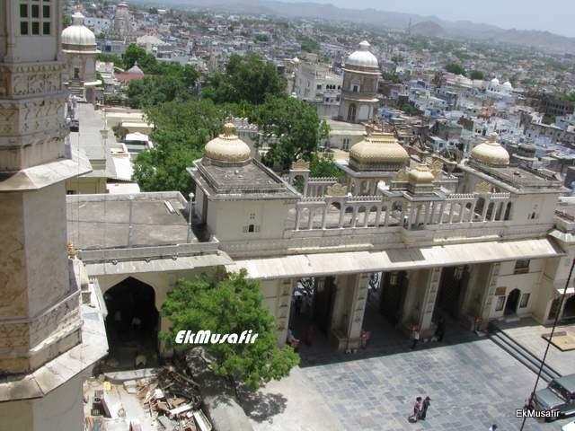 Tripolia Gate of City Palace, Udaipur.