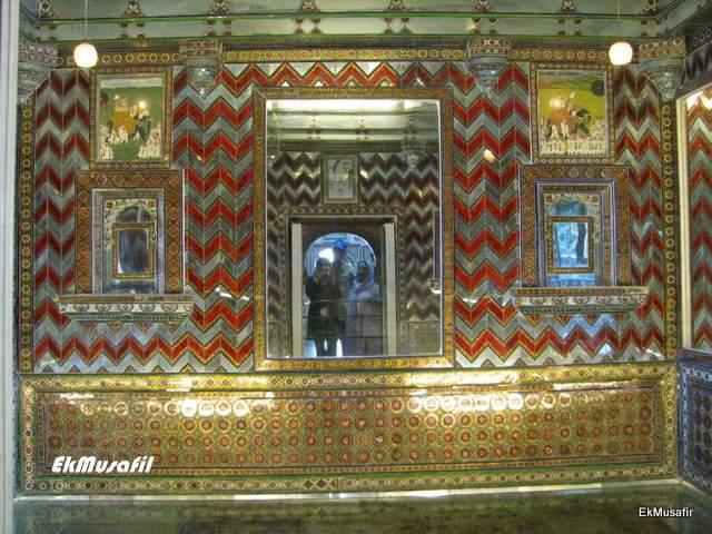 Sheesh Mahal, City Palace, Udaipur.