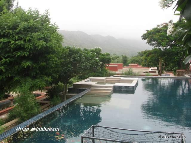 Swimming pool at the resort