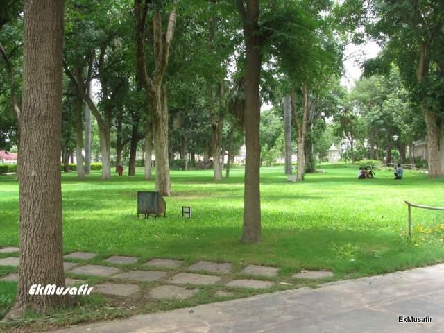 Lal Bagh gardens at Nathdwara.