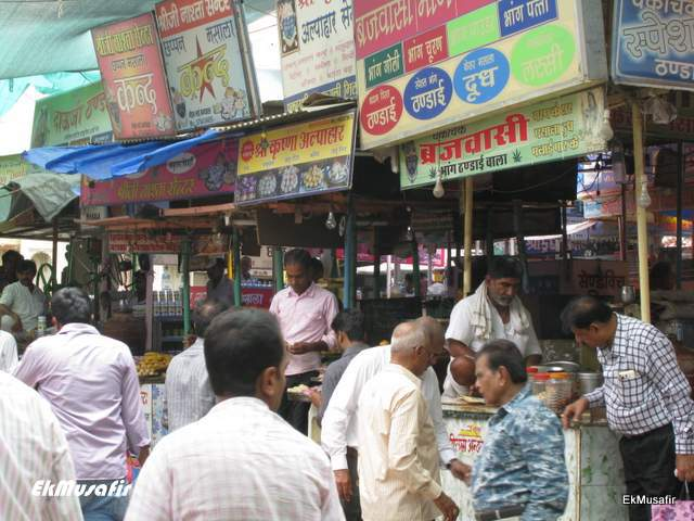 Chaupati Bazaar at Nathdwara.