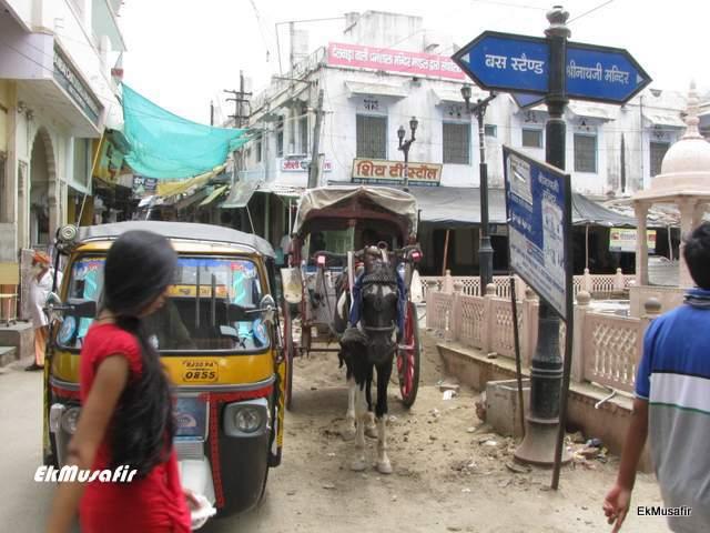 Nathdwara town.