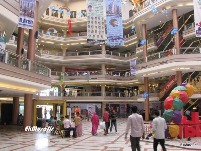 Interiors of Celebration Mall, Udaipur.