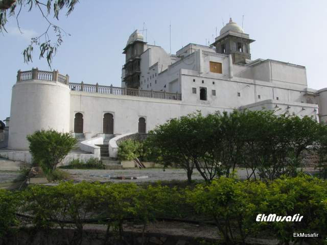 Sajjan Garh, also known as Monsoon Palace.