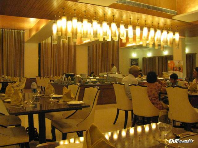 Club Mahindra Udaipur, restaurant.