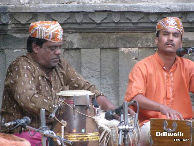 The Musicians at 'Dharohar'.