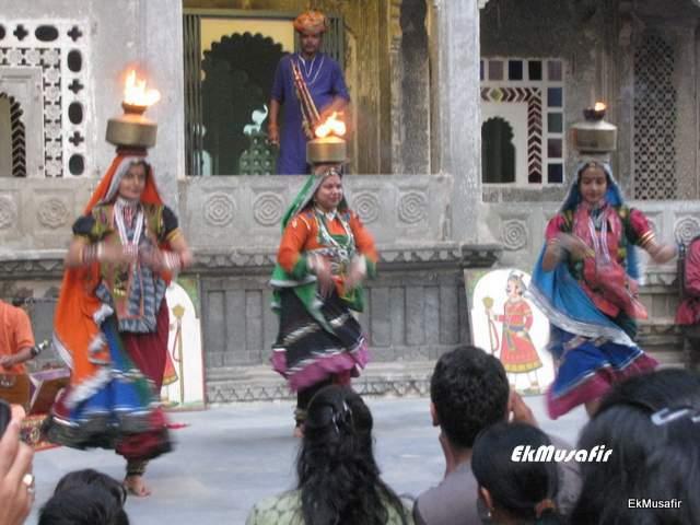 The dancers at 'Dharohar'.