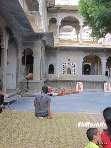 Courtyard in the Haveli.