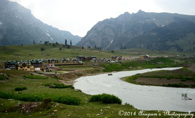 Sonamarg on the bank of river Sindh