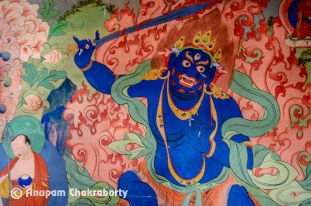 Mural of Mahakal
