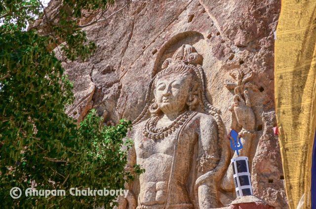 Maitreya Buddha at Mulbek
