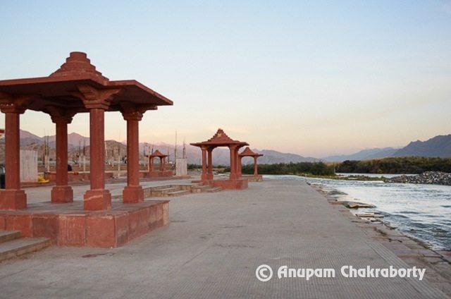 Sindhu Ghat at Leh