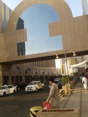 The Mall area near the hotel Janoob