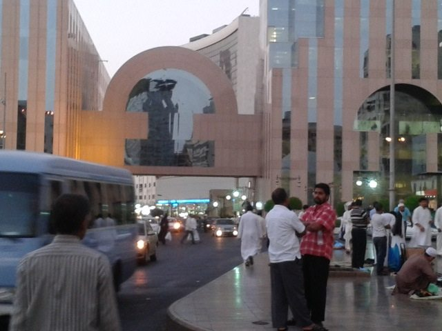 Another view of the Malls area