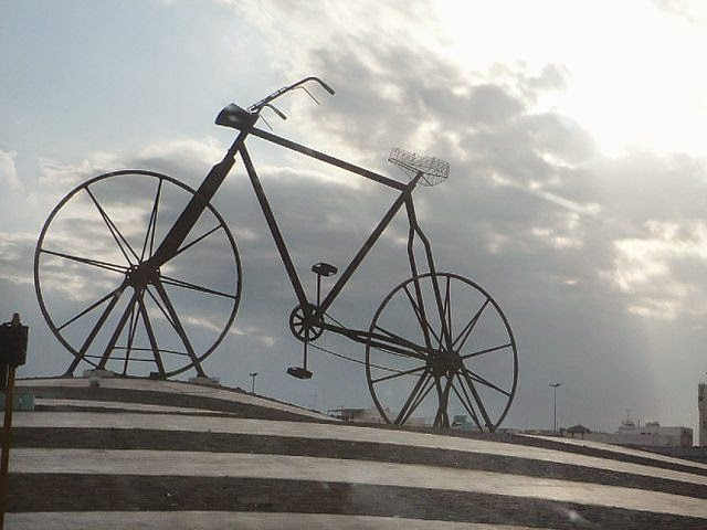 From Wikimedia Commons. This is the famous Cycle Chowk of Jeddah