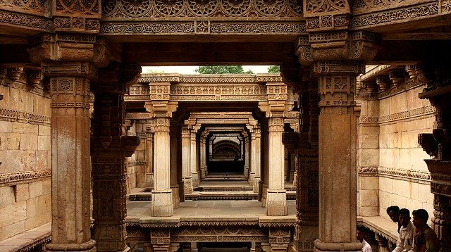 Full view Step well