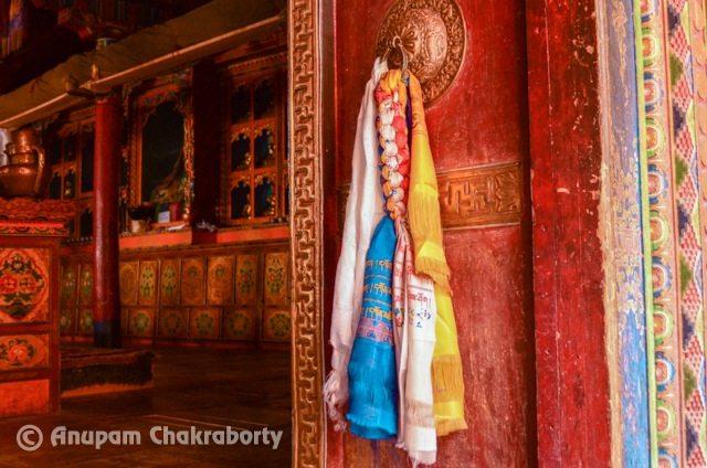 Decorated Door of Monastery