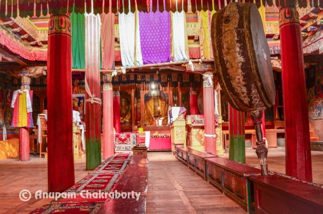 Inner Sanctum of Monastery