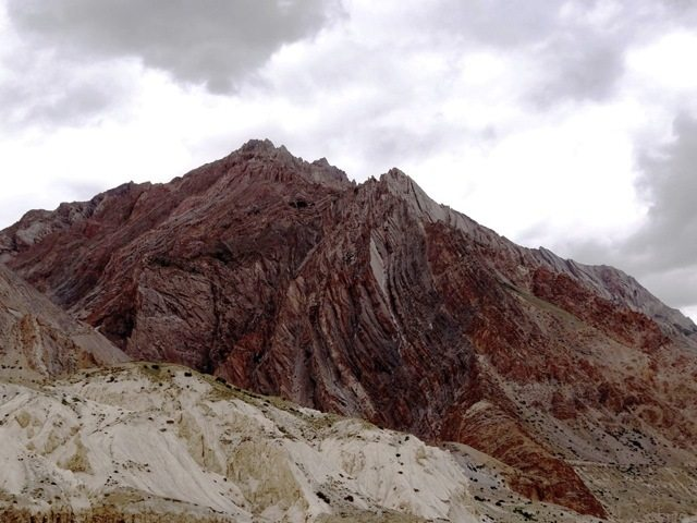 Another example of 'fold mountains'