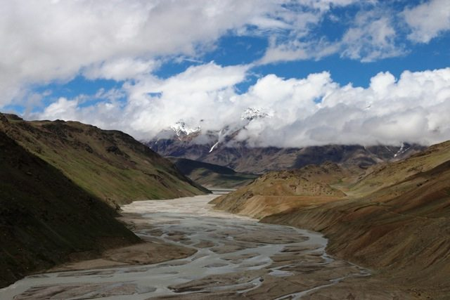 Chandra river valley