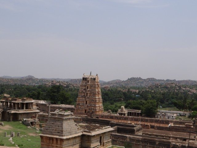 The ruins of Hampi