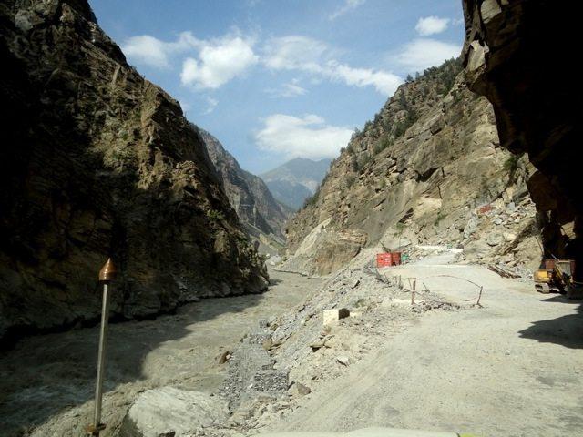 Landslide prone areas...