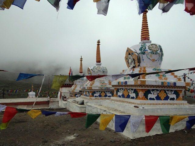 The Stupas at Kunzumla