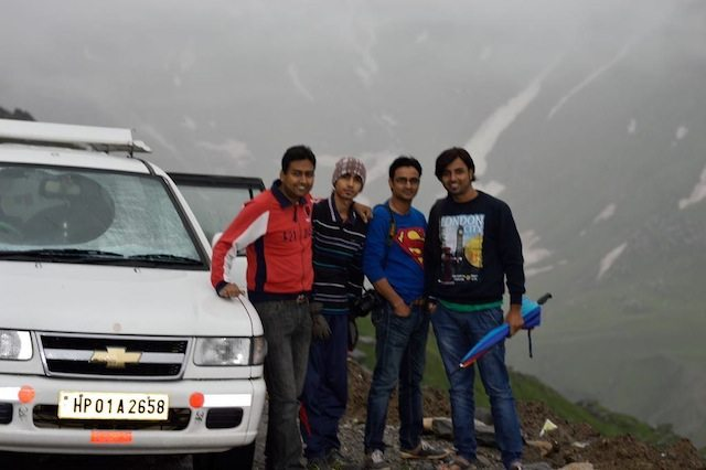 Together at Rohtang Pass