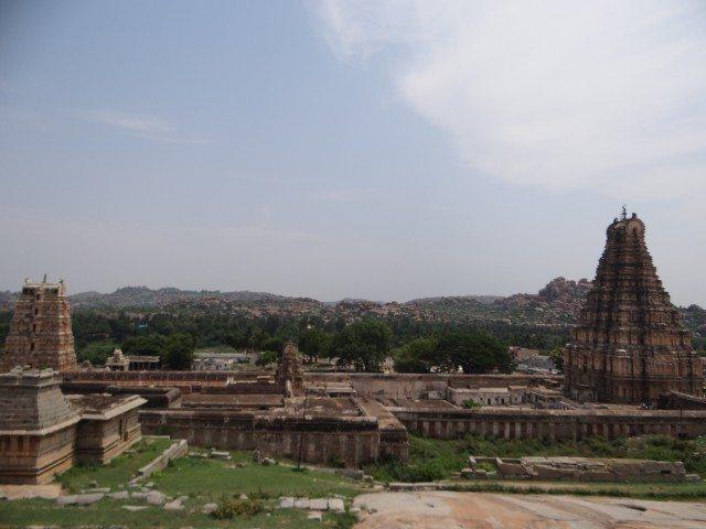 The famed Virupaksha Temple