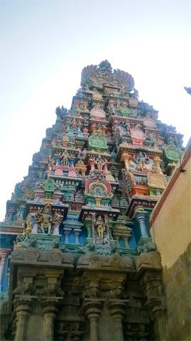 Architechture of Meenakshi temple