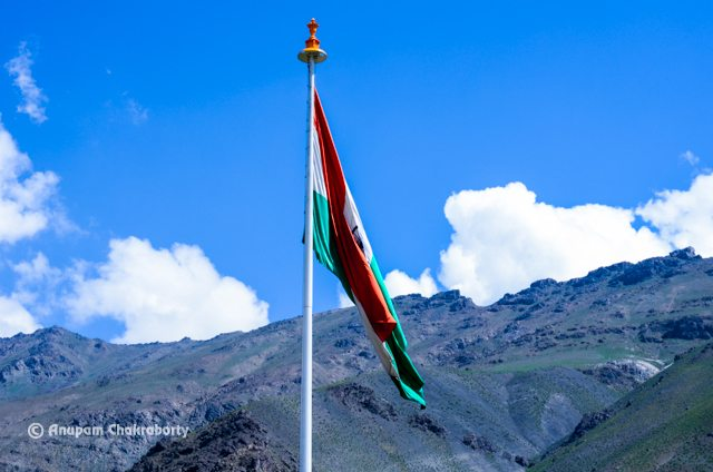 Largest Tricolour Flag on a 100 feet Pole