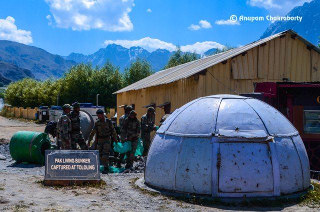 Pak Living Bunker captured and kept in the Memorial