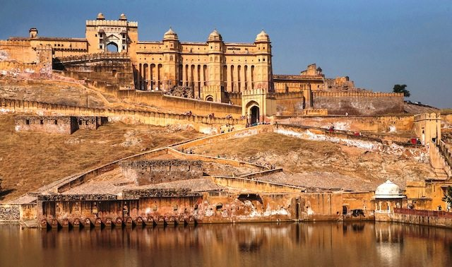 Complete view of Amer fort