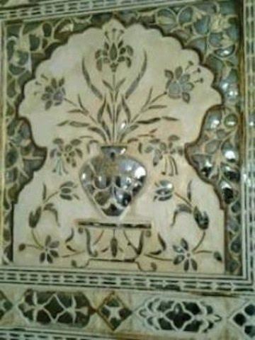 Mughal & Hindu creativity at Amer Palace