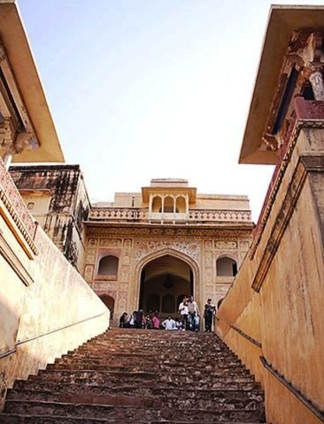 Stairway - at Amer fort