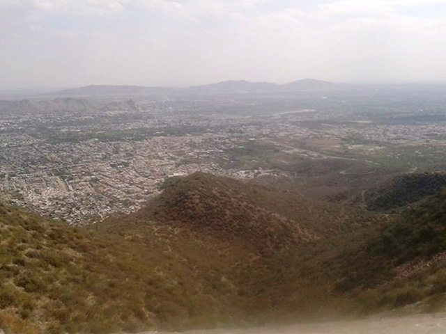 Complete view of Ajmer --on the way to trekking