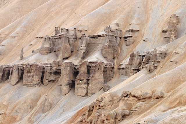 Geological formations reminiscent of medieval castles!