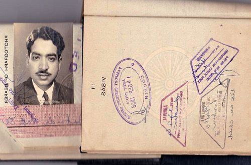 Passport of Jatinder