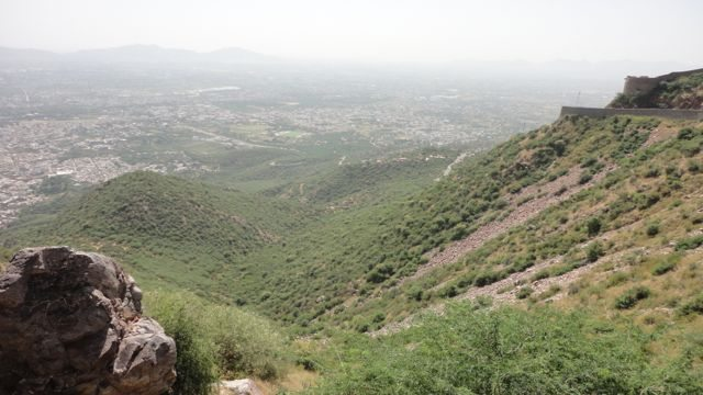 View of Ajmer city