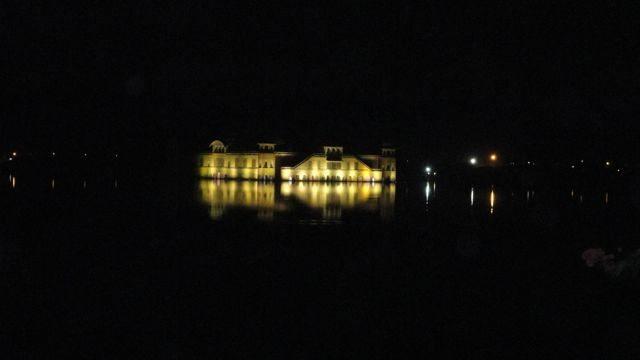 Glittering Jal Mahal in Mansagar Lake