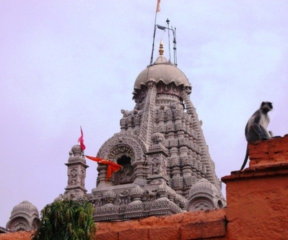 Dome of Grishneshwar Temple