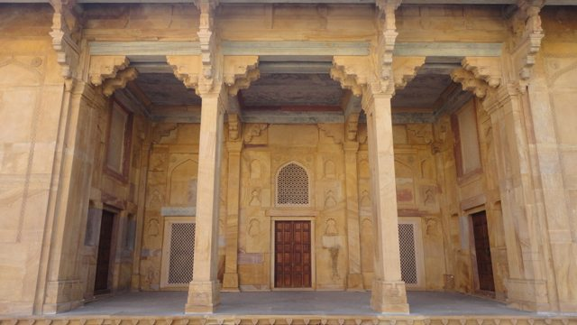 The fort where Dara Shikoh and Shah Shuja were born