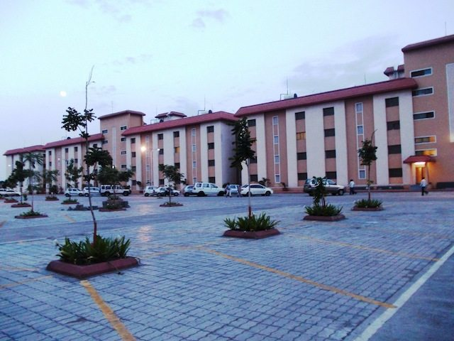 Sai Ashram with ample parking space